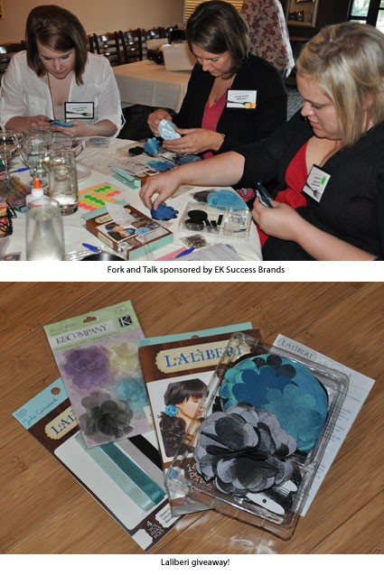 Fork and Talk participants busy with their Laliberi kits and your chance to win!