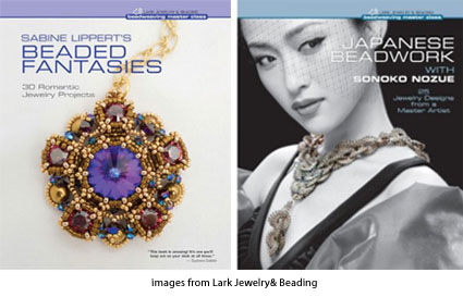cover art for Beaded Fantasies and Japanese Beadwork