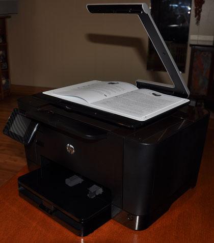 HP TopShot multifunction printer