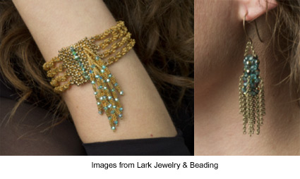 free PDF projects from Jill Wiseman at Lark Jewelry & Beading
