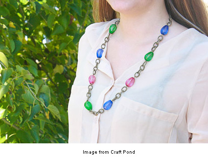 simple statement necklace from Margo at Craft Pond
