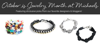 October is jewelry month at Michaels!