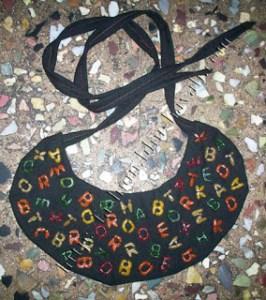 DIY Alphabet Bibs Tutorial