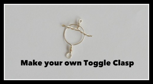 How to Make A Toggle Clasp Tutorial