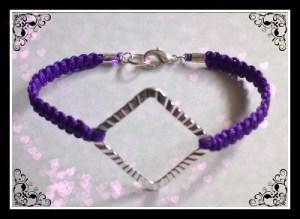 Knotted Cord Bracelet