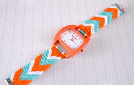 DIY Friendship Bracelet Watch