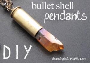 Bullet Shell Pendants