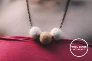 Wool Beads