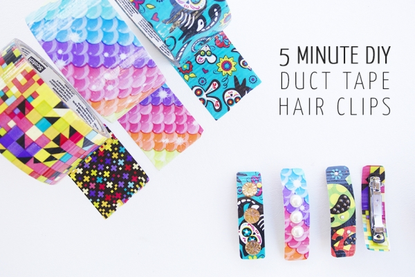 Duct-Tape-Hair-Clips-Craft