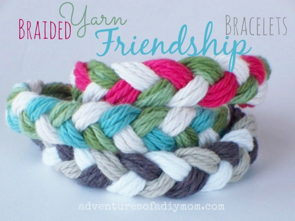Braided Yarn Friendship Bracelets