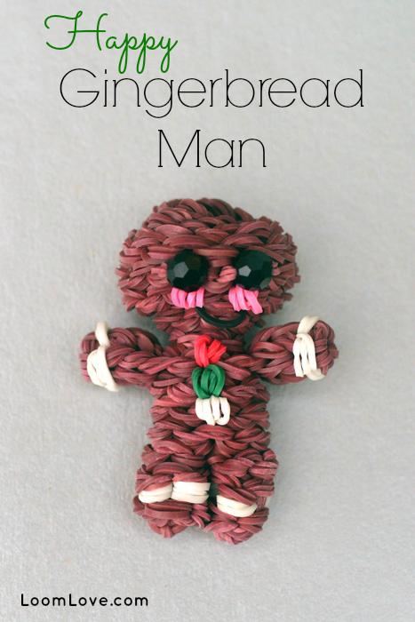 Loom Bands Gingerbread Man