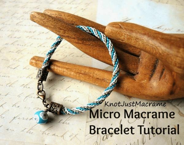 DIY – Micro Macrame Tutorial