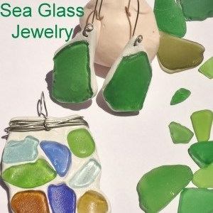 Make a Bracelet Using Sea Glass