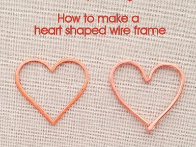 Heart Shaped Wire Frames