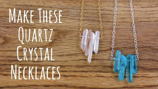 DIY Quartz Pendant You Can Make At Home