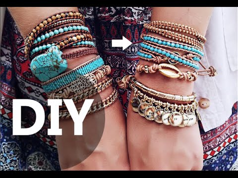 DIY Wrap Jewelry