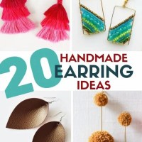 20 DIY Earring Tutorials