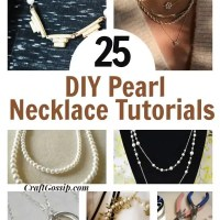 25 DIY Necklaces Made With Pearl Beads