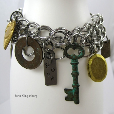 chains and charms bracelet