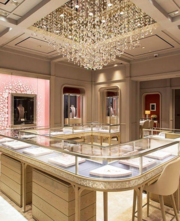 High End Diamond Jewelry Store Display Showcase   Jewelry ...
