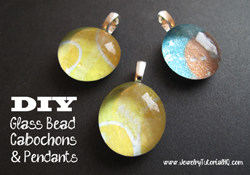 DIY Glass Cabochons and Pendants