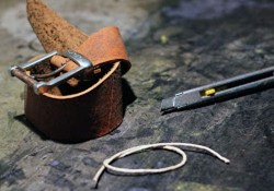 How to Make a Leather Bracelet from an Old Belt