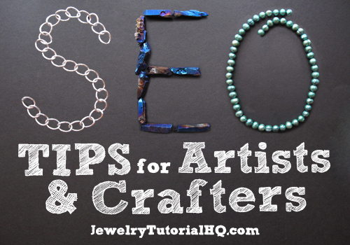 SEO tips for artists and crafters