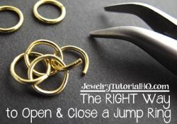 The RIGHT Way to Use Jump Rings {Video}