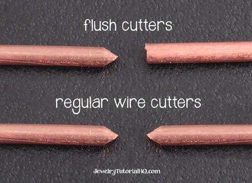 Flush cutters vs regular wire cutters