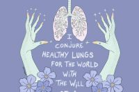 healer, witch, healthy, healthy lifestyle, healthy lungs, strengthen lungs, reiki, sonic healing, healthy