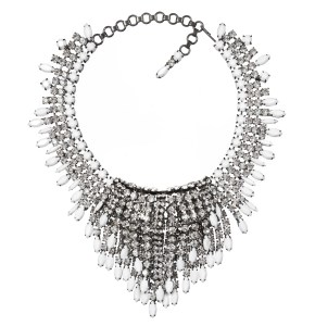 Alan Anderson Waterfall Necklace Crystal