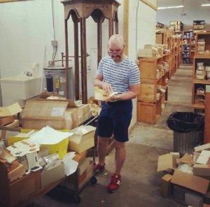 Shopping a warehouse of treasure