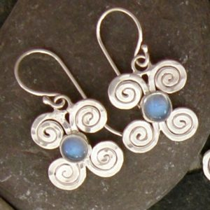 rainbow moonstone lucky energy earrings by anita shultz