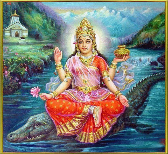 Goddess Ganga,Goddess Kaver