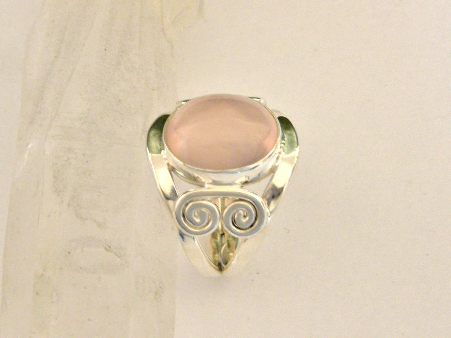 Rose Quartz Power Ring