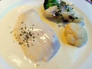白身魚のサワークリーム