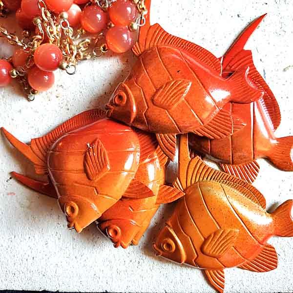 真ちゅうの金魚