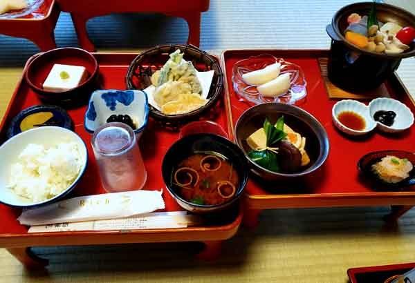 高野山宿坊西禅院食事