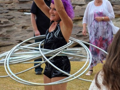 Hooping Up Happiness for your Wedding Day!