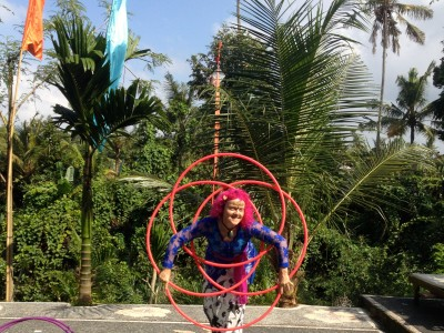 Hari Galungan in Ubud, Bali Balinese Xmas