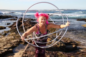 Hoop Flower at Blackwood Beach Cronulla