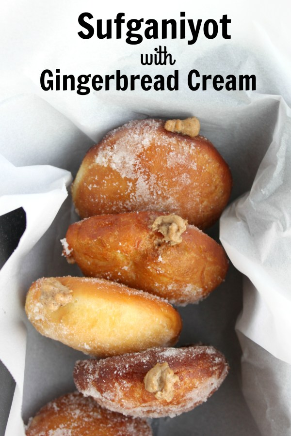 Sufganiyot with Gingerbread Cream - JewhungryJewhungry