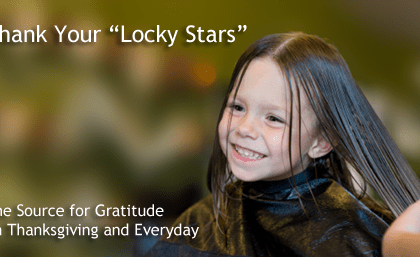 "Thank Your ""Locky Stars"""
