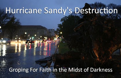 Hurricane Sandy's destruction