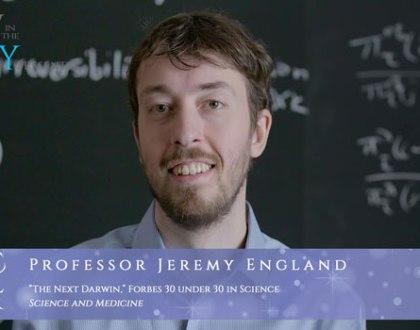 """Orthodox Jewish All Star, Dr. Jeremy England, """"The Next Darwin"""""""