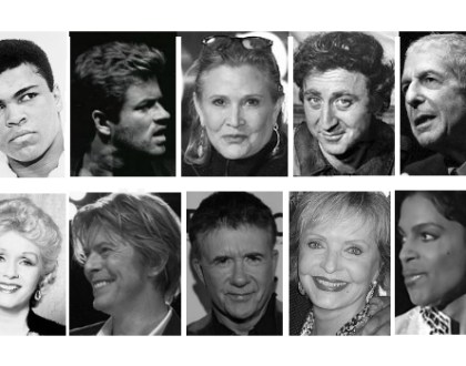 Why So Many Celebrities Died In 2016 And What You Can Do About It