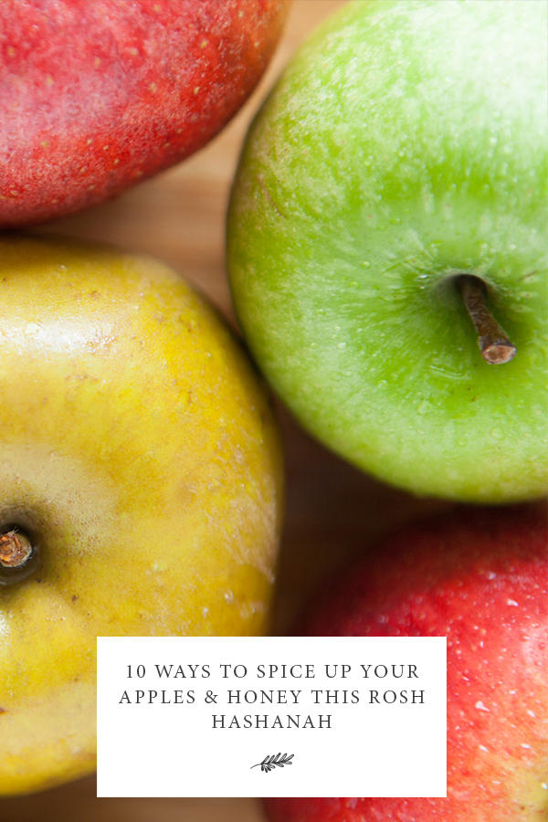 10 Ways to Spice Up Your Apples & Honey This Rosh Hashanah Jewish Food Hero