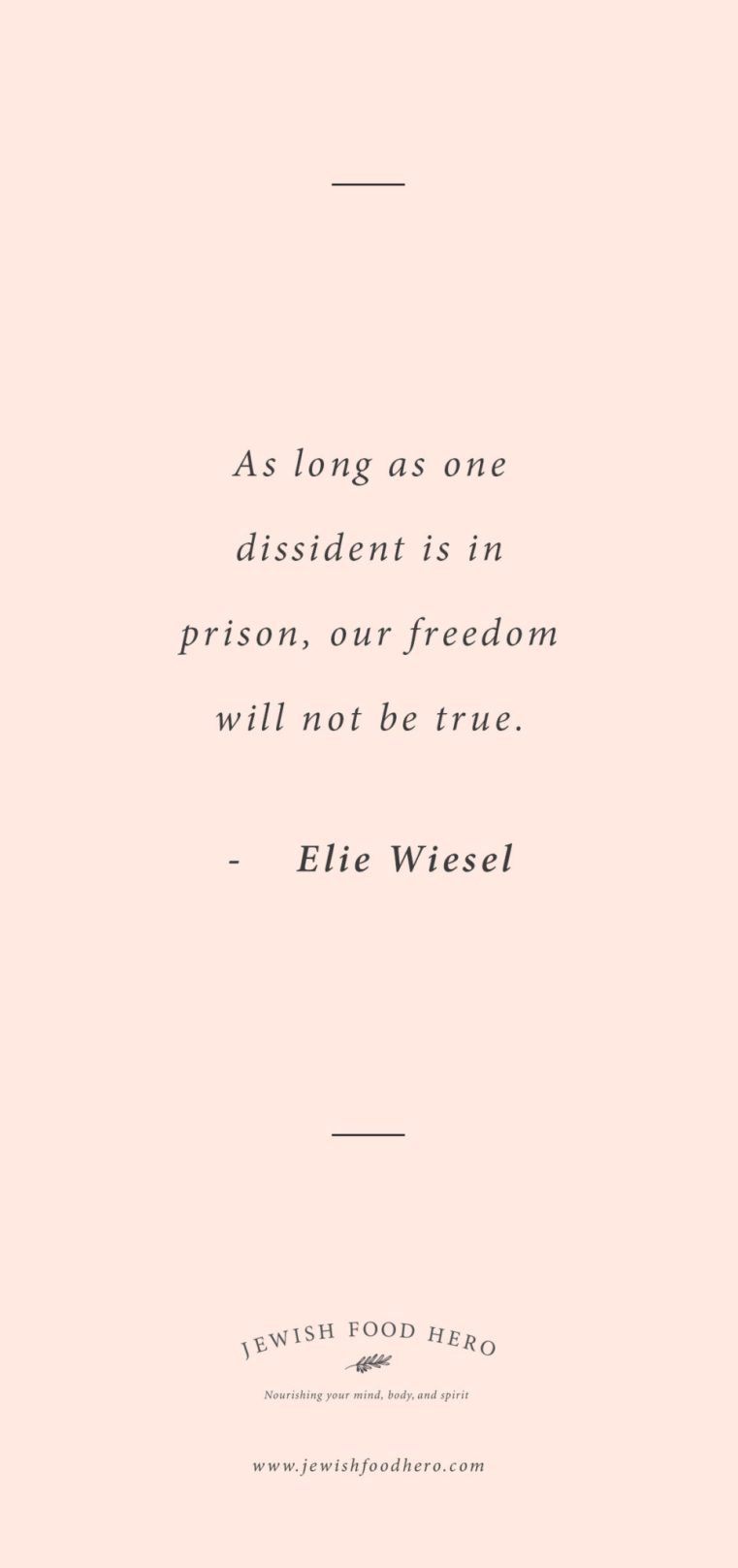Elie Wiesel quotes, Jewish quotes on freedom