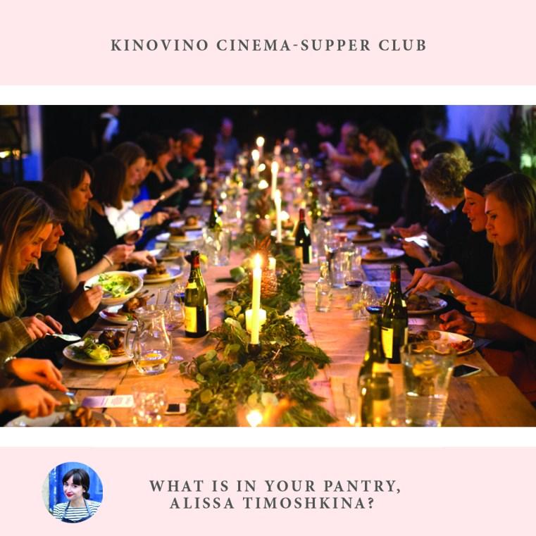 Jewish women interviews, cooking, Kinovino cinema-supper club, Alissa Timoshkina