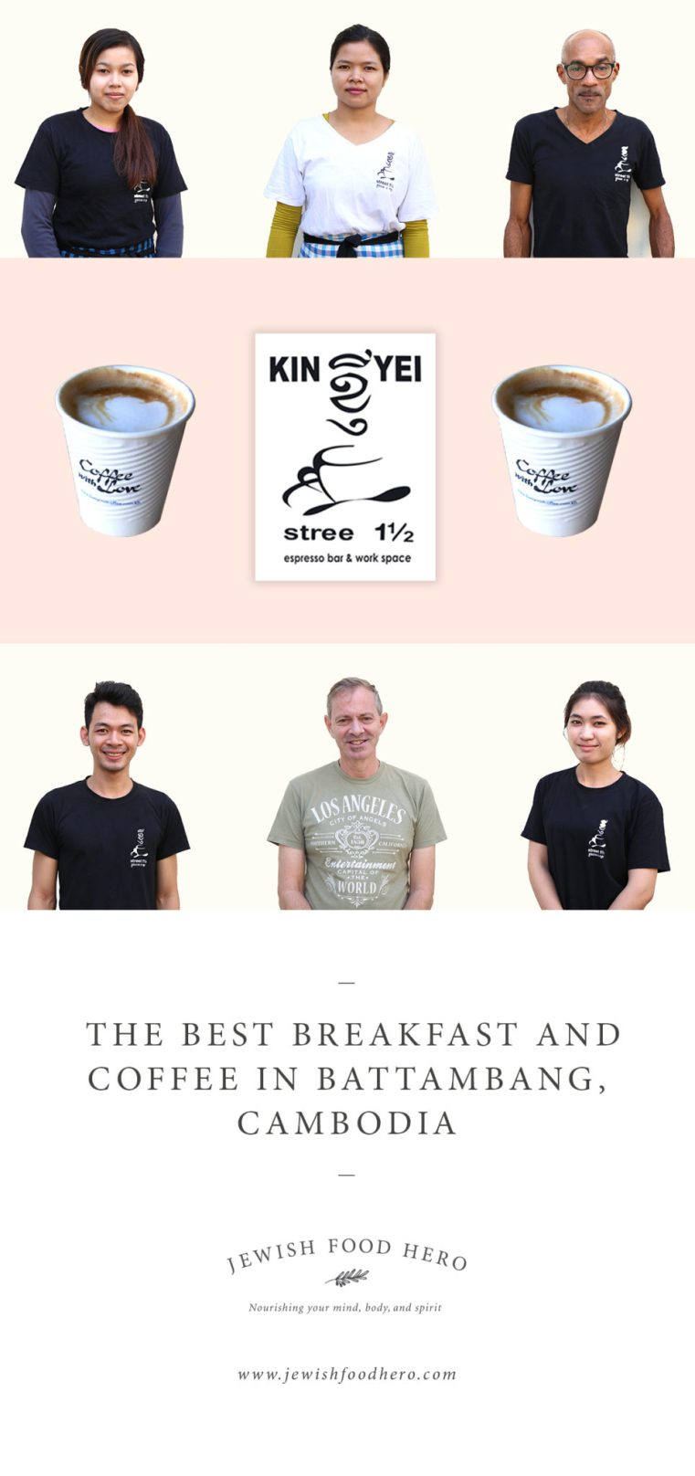 KinYei Coffee, Best Coffee in Battambang, Cambodia